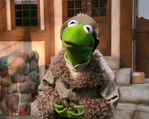 Kermit in CinderElmo