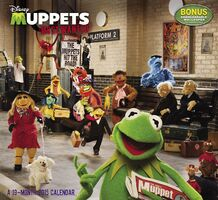 Muppets Most Wanted: A 19-Month 2015 Calendar