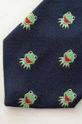 Muppet stuff exclusive 1981 kermit tie 1