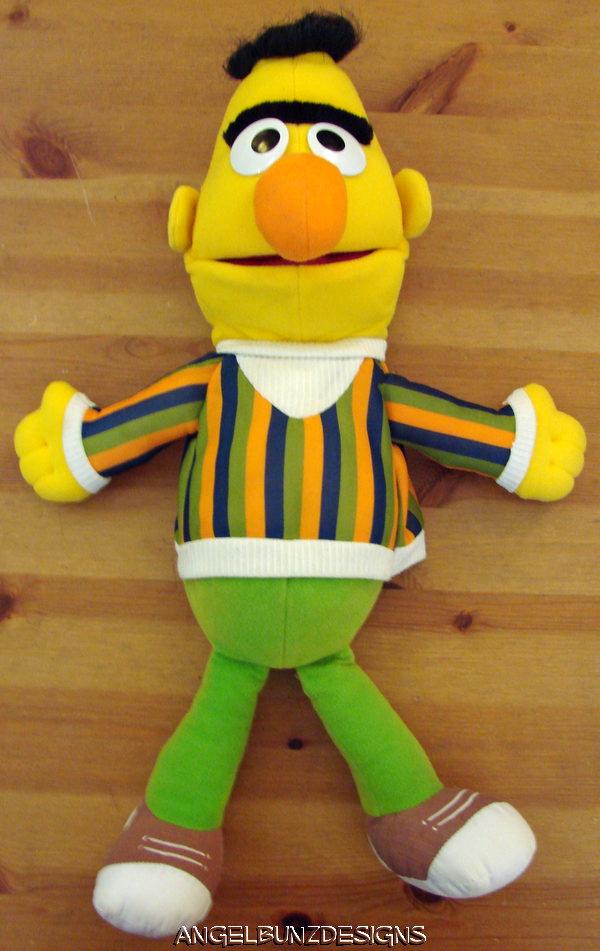 Sesame Street Bert And Ernie Great Adventures Sesame Street puppets ...