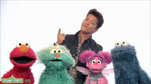 Sesame Street Bruno Mars Don't Give Up