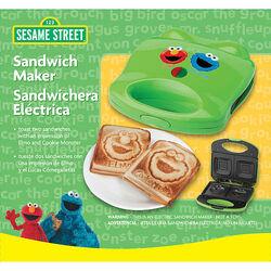 Sesame Street sandwich maker 2