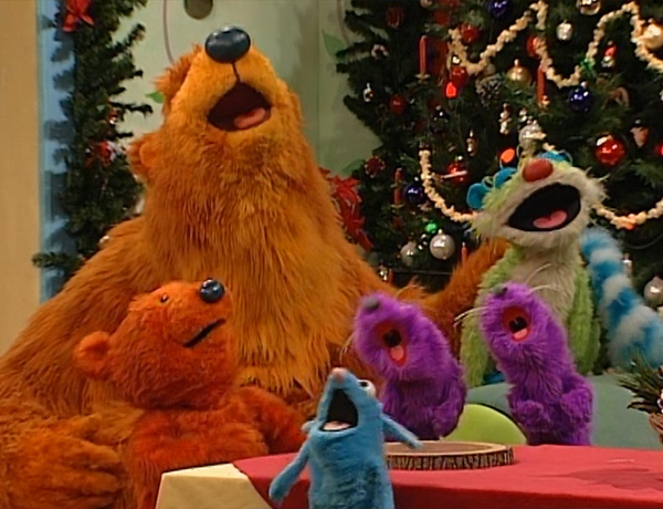 a holiday for everyone - Bear Inthe Big Blue House Christmas