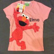 Bossini t-shirt elmo pink