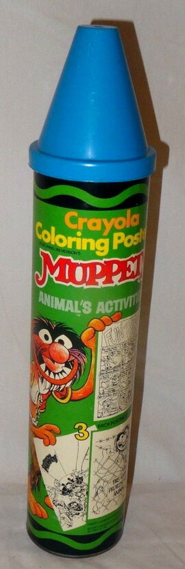 Crayola coloring posters 1