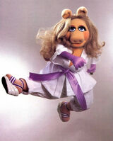 Miss Piggy's karate chops