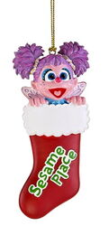 Sesame place ornament abby