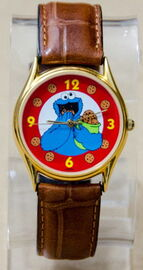 Sesame street general store cookie monster watch