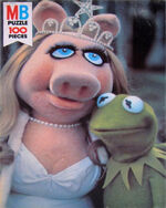 Milton bradley 1979 puzzle muppet movie beauty contest