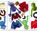 Make-A-Muppet magnet sheets