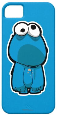 Zazzle zombie cookie monster