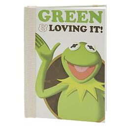 GreenAndLovingItLinedJournal