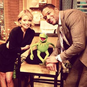 Live kelly michael kermit feb 2014