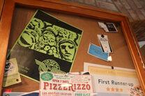 PizzeRizzo bulletin board 15