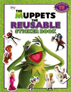 TheMuppetsTheReusableStickerBook