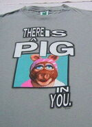 Changes there is a pig t-shirt front