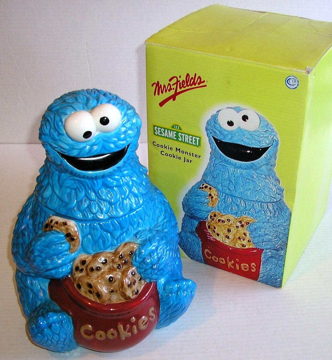Sesame Street Cookie Jars Mrs Fields Muppet Wiki