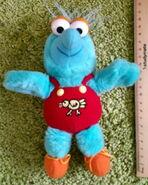 Dakin 1988 muppet babies gonzo plush