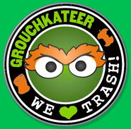 Grouchkateer series pin