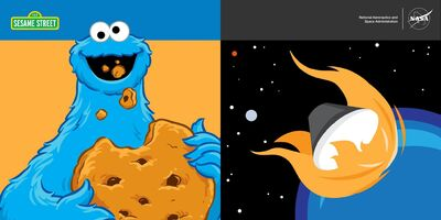 NASAOrion.Facebook July 7 2015 Cookie Monster