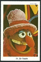 Sweden 1978 muppet swap cards 44