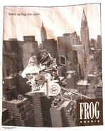 1990s muppet parodies t-shirt kermit gap frog khakis 2