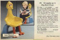 Big bird chair 1979