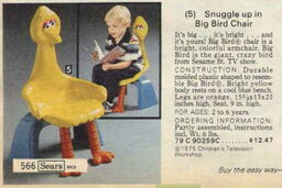 Big bird chair 1979