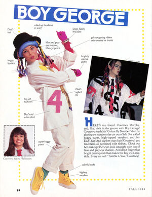Boy George Muppet Magazine