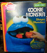 Cookie monster shape muncher 3