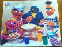 Milton bradley puzzle baking