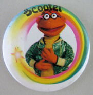 Muppet uk badge scooter