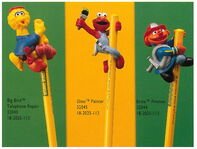 Applause 1994 pencil toppers 2