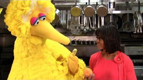 Big Bird and Michelle Obama Healthy Eating Can Be Easy!