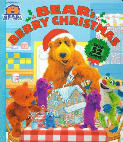 bear in the blue house christmas books muppet wiki fandom - Bear Inthe Big Blue House Christmas