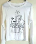 Forever 21 shirt black white