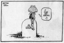 Henson tribute Jim Borgman - Democrat and Chronicle May 24 1990