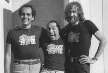 James Frawley, Mel Brooks and Jim Henson