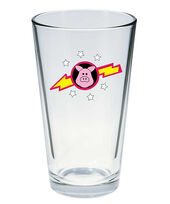Muppet Show pint glass Pigs in Space