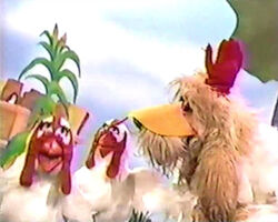 Muppet time rover chickens