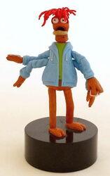 Pepe push puppet
