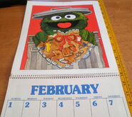 Sesame 1981 poster calendar 3