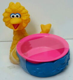 Applause big bird cereal bowl