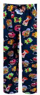 Briefly stated 2011 muppet show character collage lounge pants