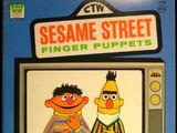 Sesame Street Finger Puppets (book)