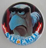 Muppet button sam
