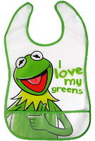 Muppet uk 2012 kermit bib