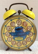 Bradley time cookie monster alarm clock