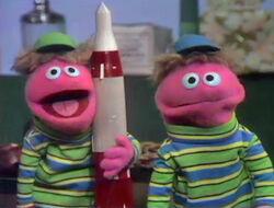 Busby Twins rocket