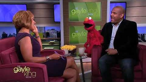 Kevin Clash and Elmo on Gayle King Show